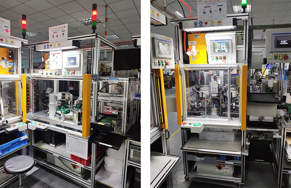 福特档位器自动生产线技术