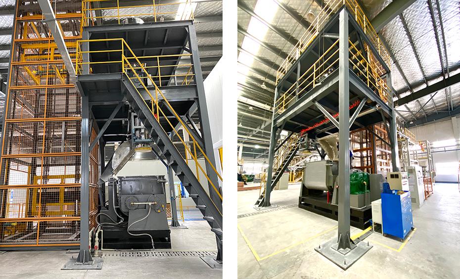 碳化硅粉料配送系统