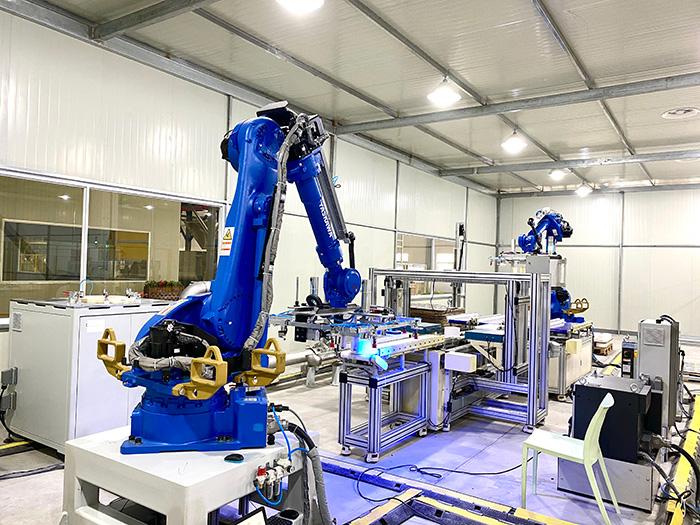 自动化流水生产线