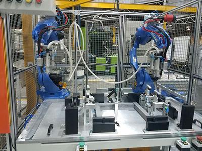 南非水箱铆接装配线设备改造案例